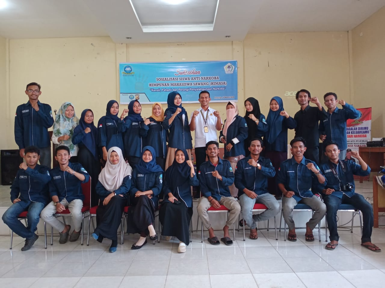 BNN dan Polres Sawang Aceh