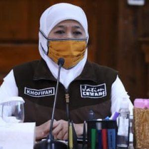 Isolasi Mandiri Hampir Satu Bulan, Gubernur Jatim Dinyatakan Sembuh dari Covid-19