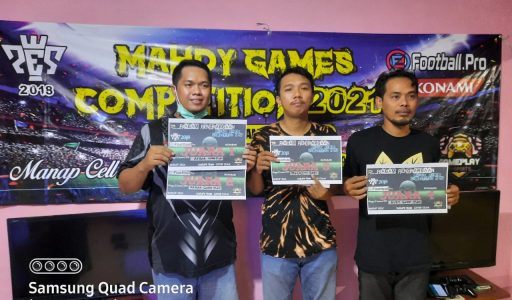 Mahdy Games Menggelar Competition 2021 Game Football PES 2018 Playstetion 3