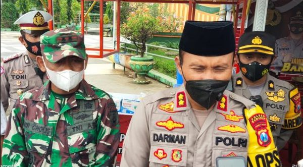 Launching Gerai Masker Gratis, Begini Harapan Kapolres Sumenep