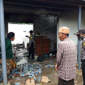 Selang Tabung Gas Bocor, Toko Klontong di Talango Hangus Terbakar