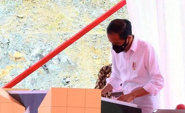 harapan presiden ri saat resmikan bendungan tukul pacitan