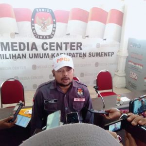 jelang pilkada 2020, kpu kabupaten sumenep gelar konferensi pers